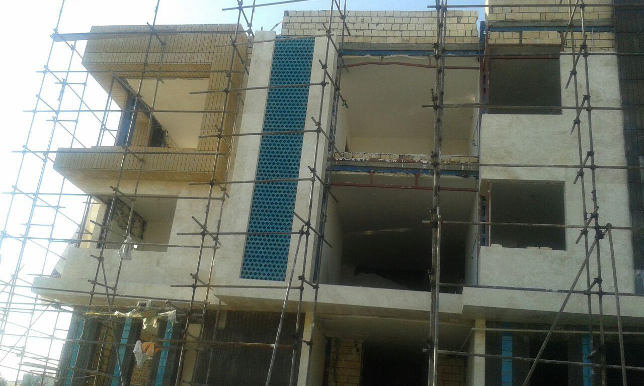 نازک کاری ساختمان سازمان عمران و بهسازی